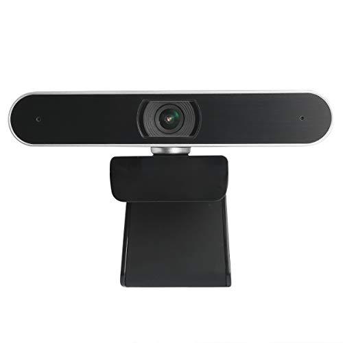 Nicoone Cámara Web 1080P Cámara Web Computadora Portátil de Escritorio Cámara Web USB 1080P Plug- N- Play Cámara Web con Micrófono Incorporado para Conferencias en Vivo