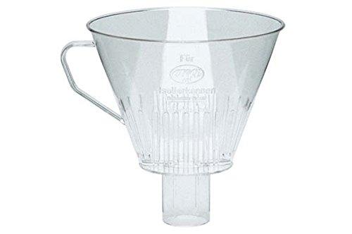 alfi 0099.000.000 Kaffeefilter, Kunststoff transparent, Größe 4, Kannenfilter für Isolierkannen zum direkten Brühen