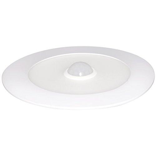 SevenOn LED 64535 Downlight LED SMD extraplano redondo con sensor de movimiento, blanco mate, 8W, 120º, 600 lúmenes, 4000K, blanco neutro, IP20. No regulable.