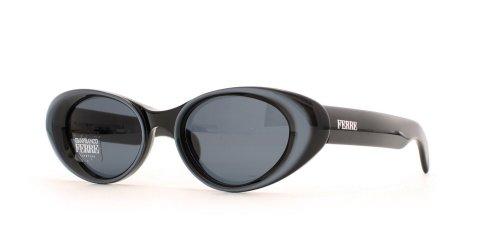 Gianfranco Ferre 418 3HL Sonnenbrille für Damen, quadratisch, Schwarz / Blau