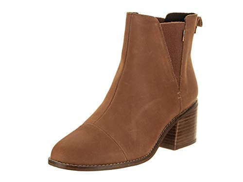 TOMS Women's Esme Boot Tan Leather 8 M