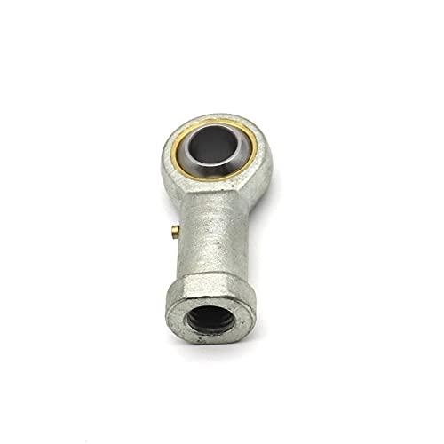 Cojinete de rótula 2PCS PHS8 M8 Agujero de 8 mm 5 mm a 14 mm Peces métricos con extremos de la varilla de ojo del cojinete de la bola de hilo hembra con la mano derecha Conector de rosca interna