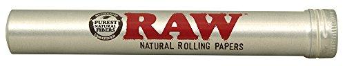 RAW Aluminium Tube - ideal für Zigaretten oder King Size Blunts Länge 115mm