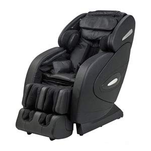 TOP OF THE LINE 2018 FULLY LOADED FR-9K'S UNIQUE 3D HEATED L TRACK ROLLING SYSTEM, ZERO GRAVITY SPACE SAVING MASSAGE CHAIR, BLUETOOTH SPEAKERS, FOOT ROLLING AND MUCH MORE. (BLACK)