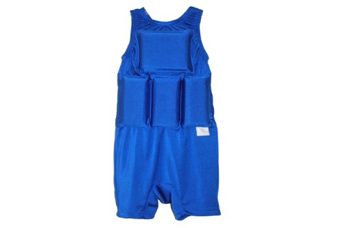 My Pool Pal Boy's Flotation Swimsuit, Royal Blue, Small