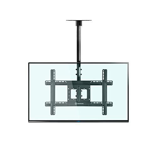 """ONKRON TV Deckenhalterung Halterung für 32\""""-70\"""" Zoll Bildschirme VESA 100x100-600x400 mm neigbar höhenverstellbar N1L Schwarz"""