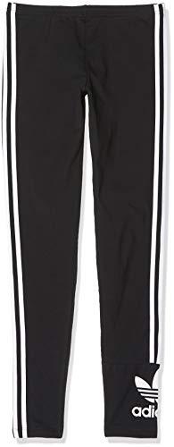 adidas Lock Up Tights Leggings Sportivi, Unisex Bambini, Black/White, 7-8Y