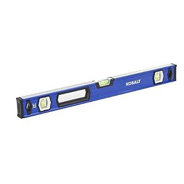 Kobalt 24-in Box Beam Level Standard Level
