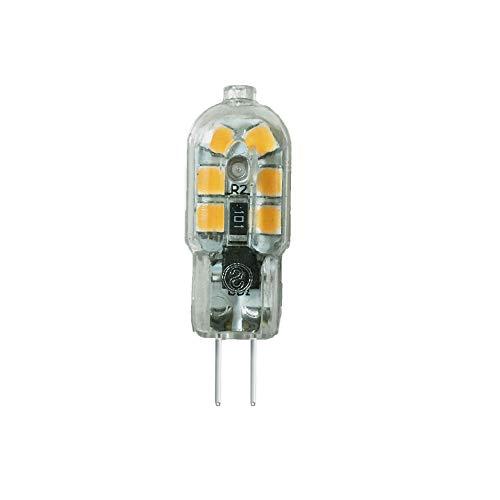 G4 2W LED Lampe, Warmweiß 3000K, 250LM, AC 220V, 12 SMD 2835 Leds, 20W Glüh Äquivalent, 360° Abstrahlwinkel, Nicht dimmbar, 10 Stück