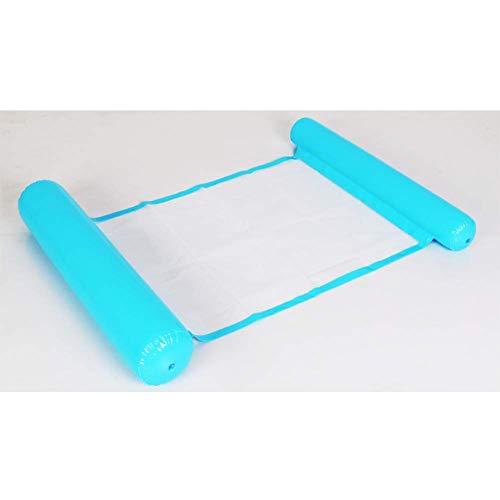 AJH Volwassen Opvouwbare Zwembadhangmat Draagbare Opblaasbare Drijvende Ligstoel