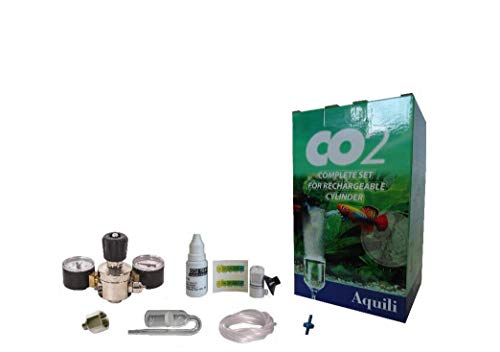 Aquili CO206 Kit Co2 Nachfüllpack, Classic