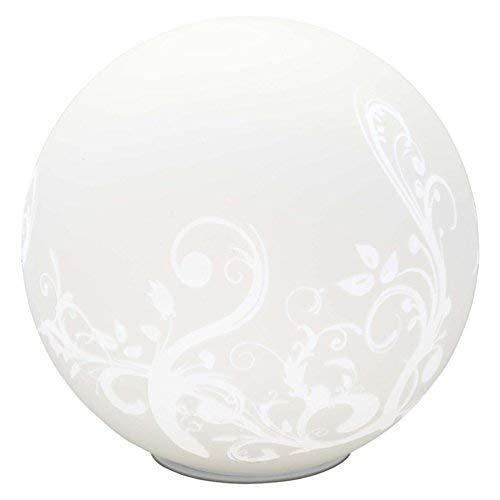 Brilliant Bona Tischleuchte, 1x E27 maximal 60W, Glas, weiß 10548/05