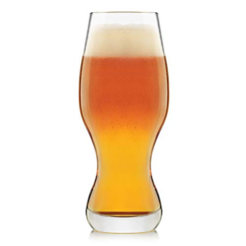 Libbey Craft Brews IPA Beer Glasses, 16-ounce, Set of 4