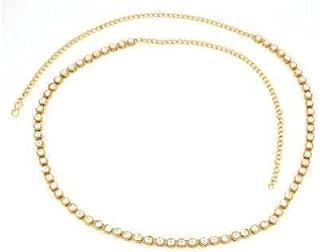ASA Stylish Traditional Gold Polished Kamarpatta Waist Chain for Women