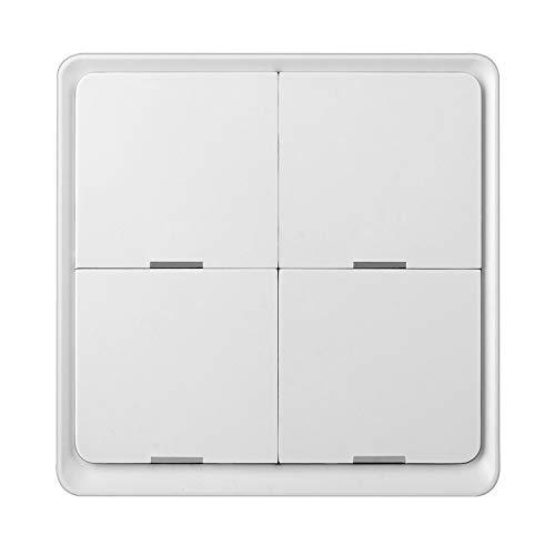 Casinlog Tuya Graffiti Home - Interruptor de escena (12 posiciones), diseño de zigBee