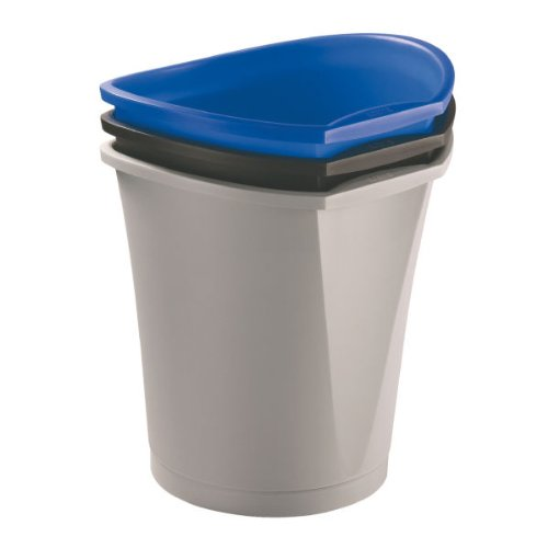 Esselte 52509 Papierkorb Intego, 18 Liter, blau