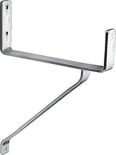 Connex Schwerlasthaken 335 x 250 x 80 mm - Belastbar bis 100 kg - Zur Wandmontage - verzinkt / Universalhaken / Montagehaken für Garage / Werkstatthaken / Ordnungshelfer / DY222016