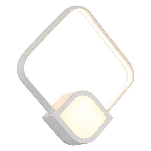 Hoom Versieren Wandlampen 18W LED-plein Acryl Modern Metal Muur Lamp Lighting Bevestiging LED wandlamp for de woonkamer, Hal, Slaapkamer