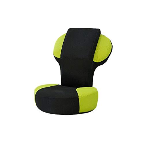 WJS Démontage Se Pliant Simple de Sofa de Tissu Se Pliant Simple de Chaise de Sofa Paresseux (Couleur : Green)