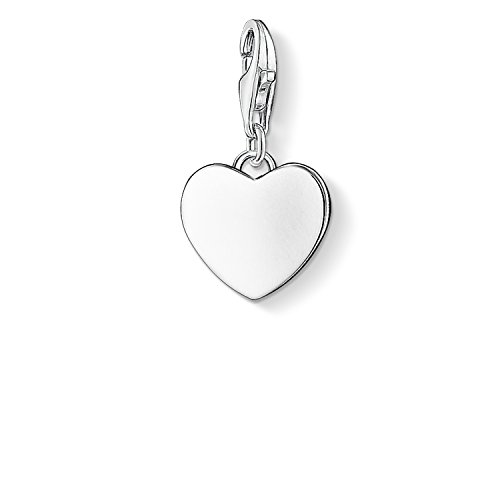 Thomas Sabo Damen-Charm-Anhänger Herz Charm Club 925 Sterling Silber 0766-001-12
