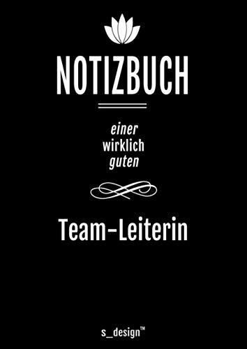 Notizbuch für Team-Leiter / Team-Leiterin: Originelle Geschenk-Idee [120 Seiten kariertes DIN A4 blanko Papier]