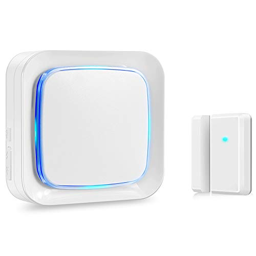 Coolqiya Door Sensor Chime Alarm