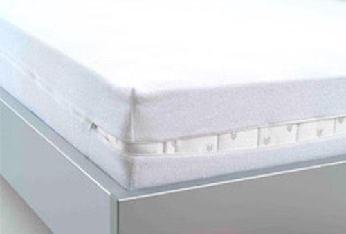 STODOMED Encasing Matratzenschutzbezug Vollbezug mit Reißverschluß Milben Allergiker Inkontinenz 100x200 cm wasserdicht