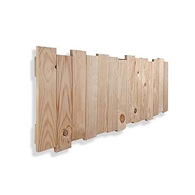 🛏️ Balsa - Cabecero con una estructura de madera maciza de pino dándole un toque rústico y artesanal a su dormitorio. 📐 ESPECIFICACIONES - Conjunto de maderas de 45x9x2 cm., dispuestas a diferente altura dándo al cabecero una altura máxima de 50 cm 🔎...