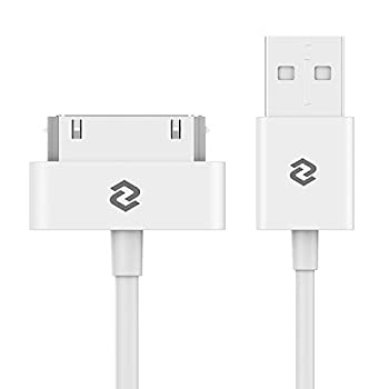 JETech USB Sync and Charging Cable Compatible iPhone 4/4s iPhone 3G/3GS iPad 1/2/3 iPod 3.3 Feet  White
