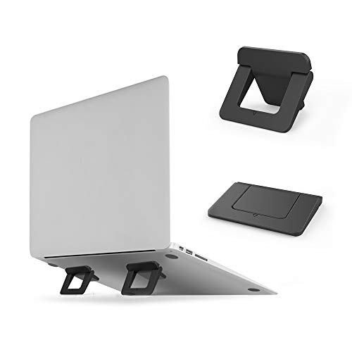 DolDer Laptop Faltbare Cooling Stand Portable Mini-Notebook Klebepads Ständer für Laptop MacBook Kühler