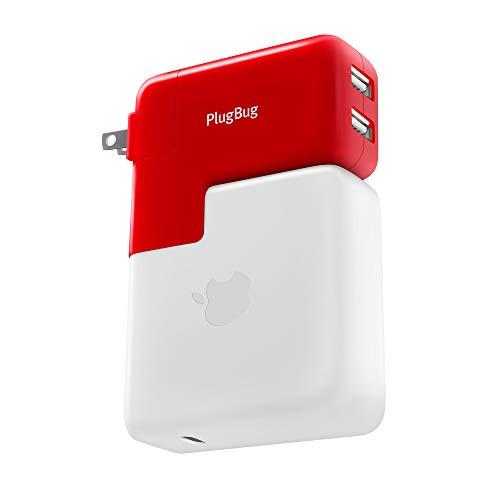 Twelve South PlugBug Duo - Adaptador de Viaje Universal para Apple MacBook...