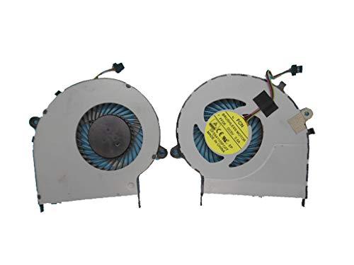 Ventilador de refrigeración de CPU para Ordenador portátil para Toshiba Satellite L50-B L55-B DFS541105FC0T FFD6 DC5V 0.5A Nuevo