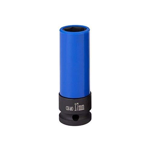 Kraft-Schoneinsatz 17mm für Alu-Felgen für Schlagschrauber von WIESEMANN 1893 I Kraft-Steckschlüssel-Satz I Schonnüsse I Impact Socket I 0,5 Zoll I 80294