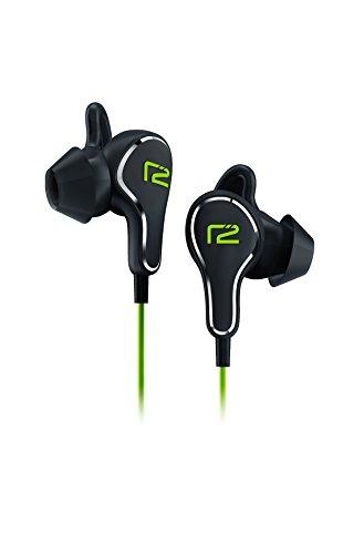 Ready2Music R2MTITBLACKGREEN Titan Bluetooth 4.0 In-Ear Kopfhörer schwarz/grün