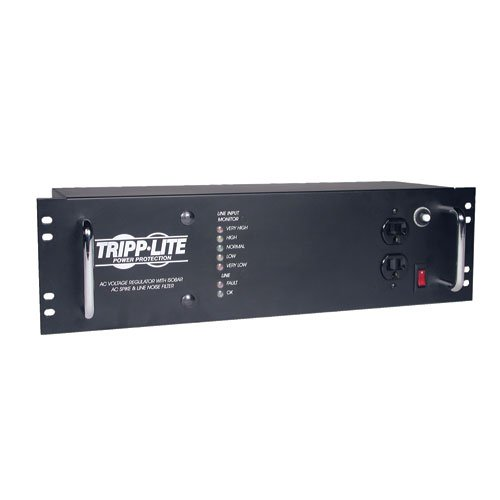 Tripp Lite LCR2400 Line Conditioner 2400W AVR Surge 120V 20A 60Hz 14 Outlet 12-Feet Cd