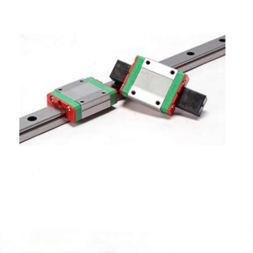 CHENSHUAI Premium High Precision Small Slide Rail Miniature Linear Guide Rail Slider MGN7C/MGN7H Anti-rust (Guide Length : MGN7C)