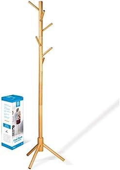 Zober High-Grade Wooden Tree Coat Rack Stand