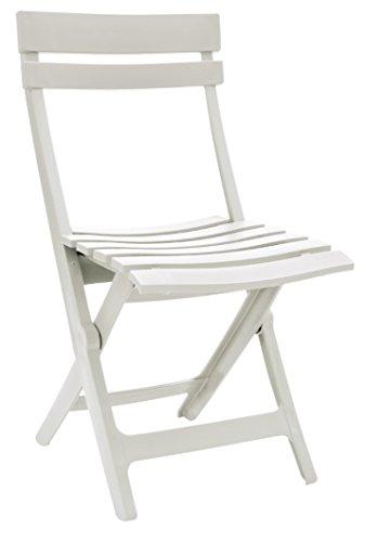 GROSFILLEX Klappstuhl MIAMI, weiß, 50 x 42 x 80 cm
