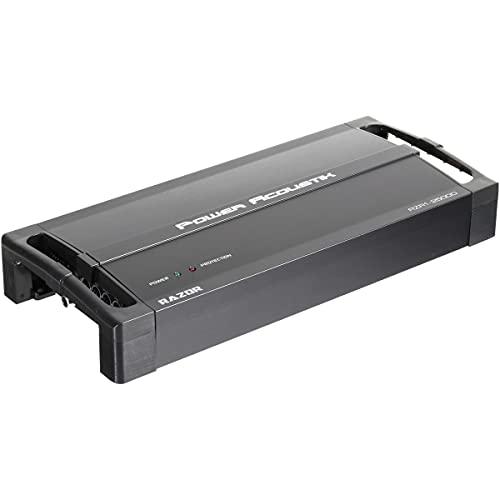 Power Acoustik RZR1-2500D class D mono block subwoofer Amplifier