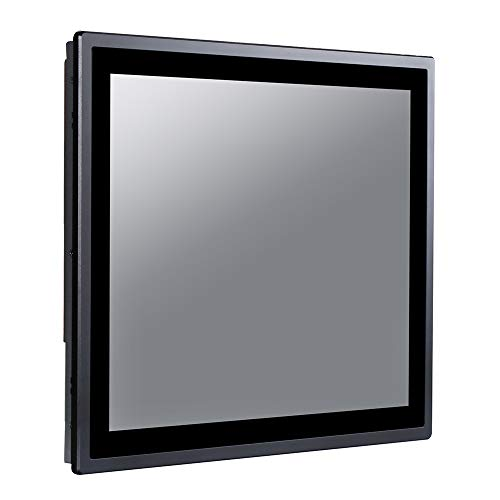 17 Inch IP65 Industrial Touch Panel PC,All in One Computer,10 Points Capacitive TS,Windows 7/10,Linux,Intel Core I5 3317U,(Black),[HUNSN WD15],[2RS232/VGA/HDMI/LAN/4USB2.0],(4G RAM/64G SSD)