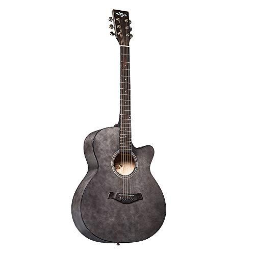 Boll-ATur Vintage Akustikgitarre - 41 Zoll / 40 Zoll Anfänger Akustikgitarre Einführung Lehrgitarre Professionelles Spiel Handwischset Gitarrentuner Schutzplatte Gitarrentasche (Color : 40