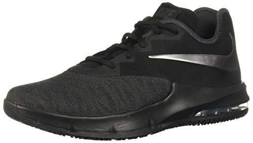 Nike Herren Air Max Infuriate Iii Low Basketballschuhe, Mehrfarbig (Black/MTLC Dark Grey-Anthracite 007), 44 EU