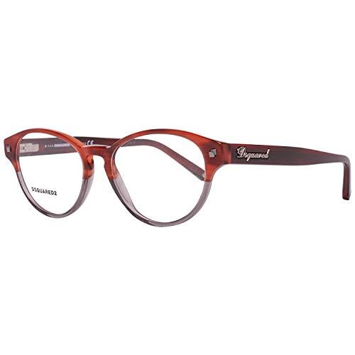 DSQUARED2 D Squared Montatura DQ5118-062-51 (51 mm) Rosso