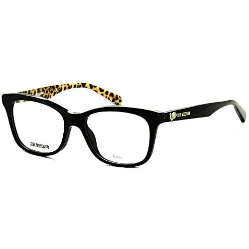 Occhiali da vista love moschino donna black lucido MOL517 807 52-16-140