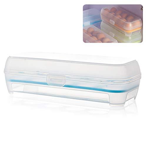 Mekta 10 Gitter Ei Aufbewahrungsbox Kühlschrank Antikollisions Eierschale Behälter
