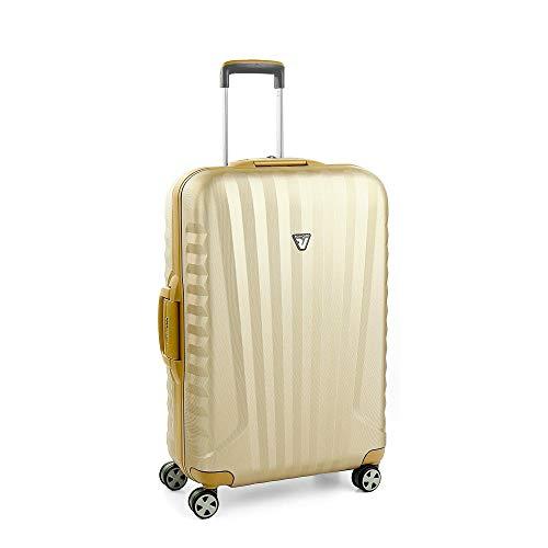 Roncato Uno SL Premium Maleta Mediana 36champagne, Medida: 73 x 48 x 25 cm, Capacidad: 80 l, Pesas: 3.7 kg