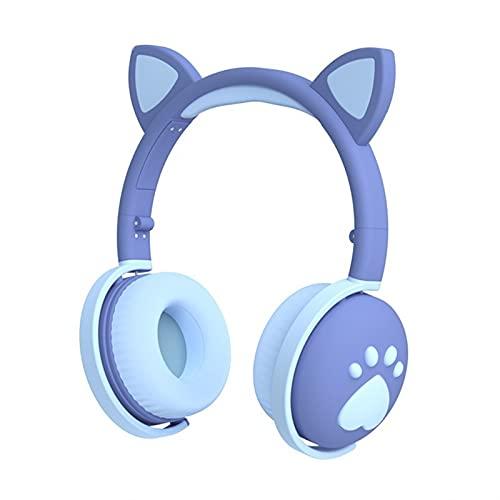 El nuevo Auriculares Con Conexión Bluetooth Inalámbrica, Auriculares De Juego De Ruido Plegable Luminoso De 5.0 Con Micrófonos, 7.1 Auriculares De Sonido Envolvente, Adecuados Para Llamadas De Confere