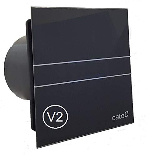 CATA E GLAS G Standard V2 Badlüfter Front - echtes Glas (E-100G BK/schwarz /00900402)