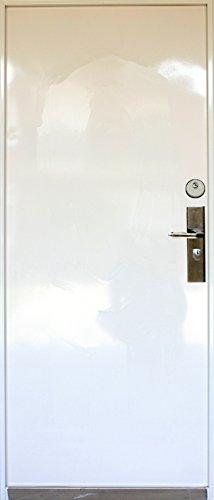 N14a, Tür,Wohnungstür,Sicherheitstür,Haustür, Stahltür, Türen, Innen/Rechts1000-x2050mm Weiß