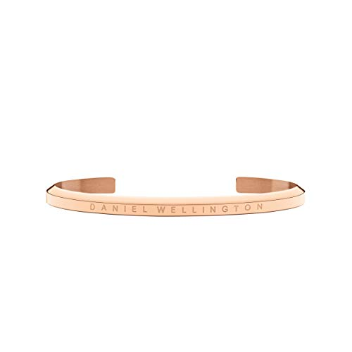 Daniel Wellington Damen-Armband Manschette Edelstahl teilvergoldet 54 cm - DW00400003